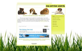 Dog Service Search
