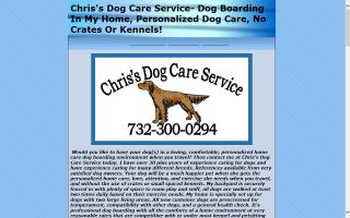 Chris's Dog Care Service