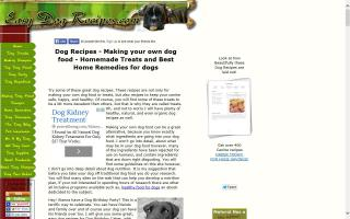 Easy Dog Recipes