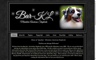 Bar-KL Miniature Australian Shepherds