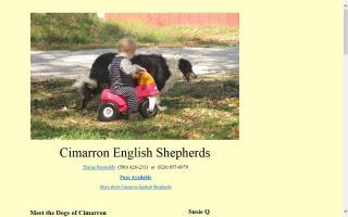 Cimarron English Shepherds