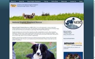 National English Shepherd Rescue, Ltd. - NESR