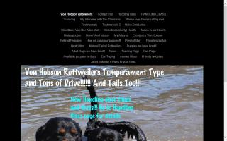 Von Hobson Rottweilers