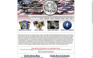 Cane Corso Association of America - CCAA