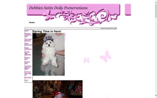 Debbie's Satin Dolls Pomeranians