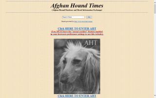 Afghan Hound Times