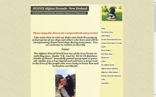 Jhanzi Afghan Hounds