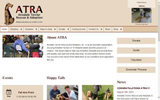 Airedale Terrier Rescue and Adoption - ATRA