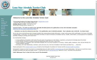 Lone Star Airedale Terrier Club - LSATC