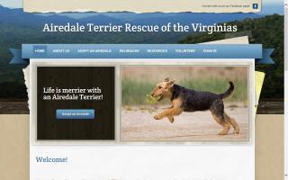 Airedale Terrier Rescue of Virginia - ATRVA