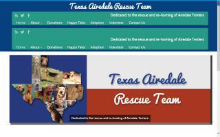 Texas Airedale Rescue Team