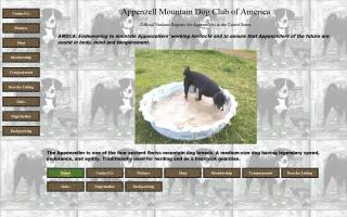 Appenzell Mountain Dog Club of America