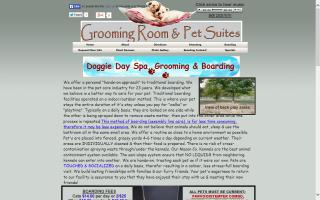 Grooming Room & Pet Suites Spa