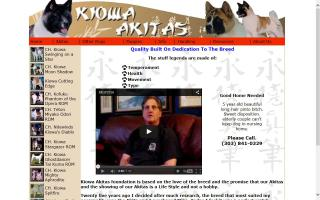 Kiowa Akitas
