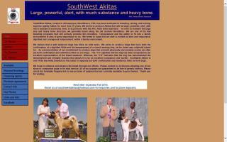 Southwest Akitas