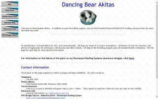 Dancing Bear Akitas