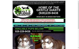 Kelly's Gentle Giant Alaskan Malamutes.