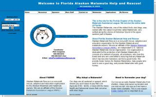 Florida Alaskan Malamute Help and Rescue