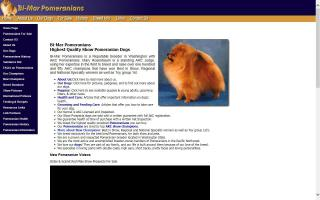 Bi-Mar Pomeranians