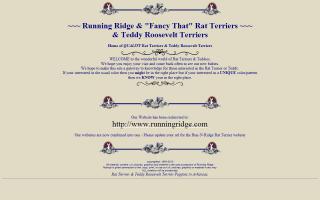 Running Ridge Rat Terriers