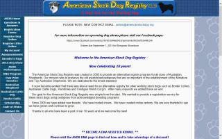 American Stock Dog Registry - ASDR