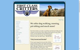 First Class Critters