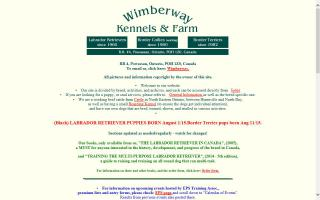 Wimberway Kennels & Farm - Books