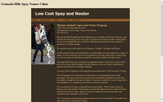Granada Hills Spay Neuter Clinic