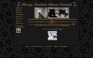 Breezy Meadows Chinese Cresteds