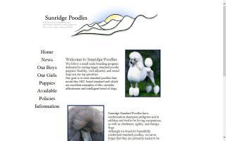 Sunridge Poodles