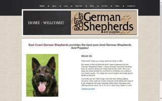 East Coast German Shepherds and Puppies