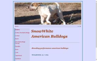 SnowWhite American Bulldogs