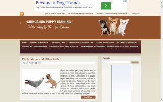 Chihuahua Puppy Training
