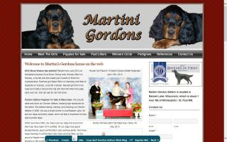 Martini Gordon Setters