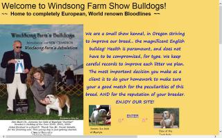 Windsong Farm English Bulldogs
